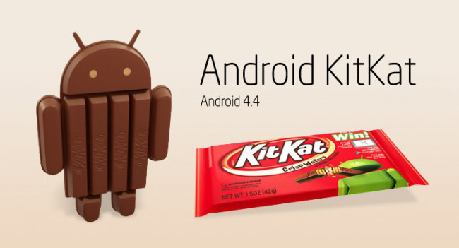 This month share Android 4.4 KitKat reached 1.1%