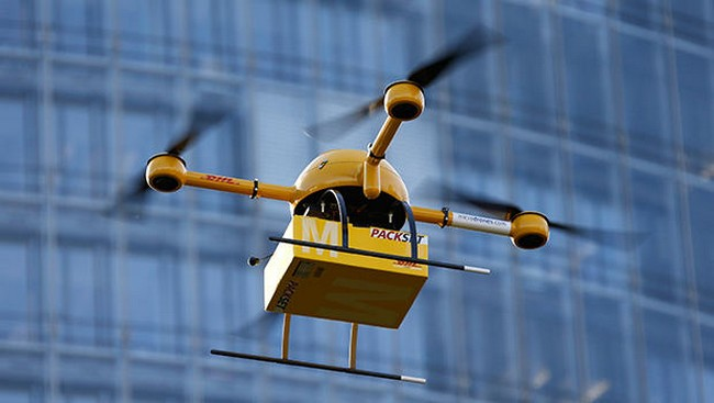 Deutsche Post is also interested in creating a service delivery of goods using drones
