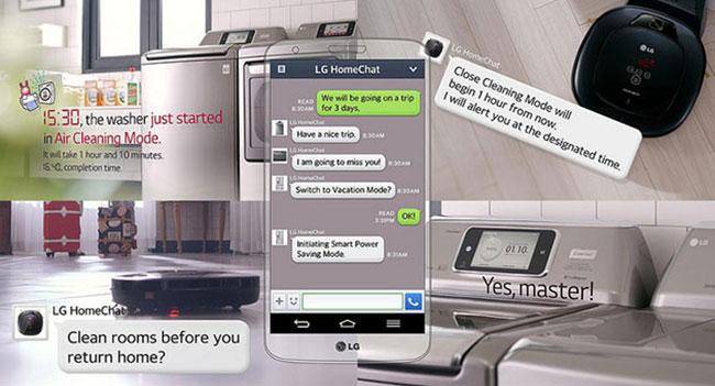 Сервис LG HomeChat позволит общаться с бытовой техникой через мессенджер LINE