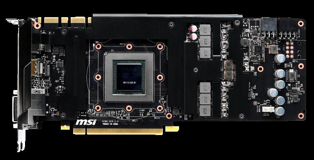 MSI представила видеокарту GeForce GTX 780 Ti Gaming