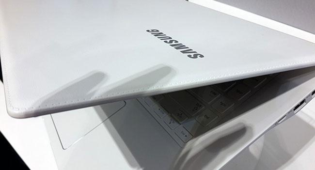 Samsung будет использовать покрытие «под кожу» в дизайне ноутбуков