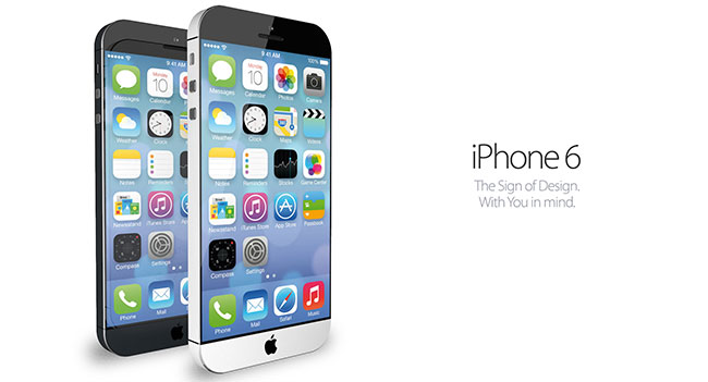 Apple defined with the basic design elements of the iPhone 6