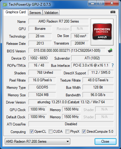 AMD_Radeon_R7_260_GPU-Z_info