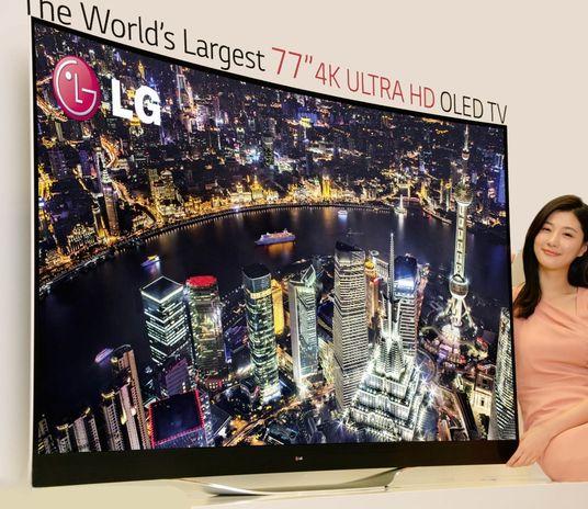 LG показала на CES 2014 линейку OLED-телевизоров