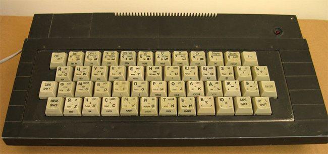 Один из отечественных клонов ZX Spectrum 48K – Orizon-Micro из г. Смела Черкасской области