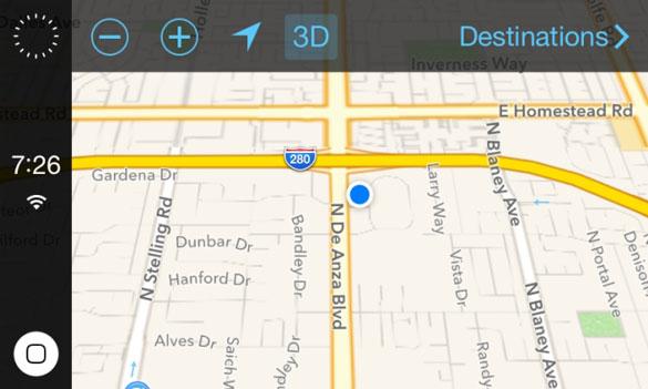 Появились новые скриншоты iOS in the Car