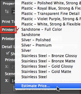 В Adobe Photoshop CC появилась поддержка 3D-печати