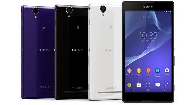 Sony выпустила смартфоны Xperia T2 Ultra и Xperia E1