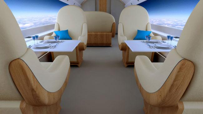 В сверхзвуковом реактивном самолете Spike S-512 предлагается заменить иллюминаторы на камеры и дисплеи