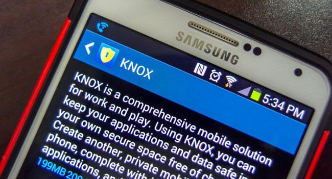 Samsung выпустила мобильное ПО для обеспечения безопасности Knox 2.0