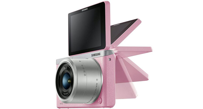 Samsung разработала компактную камеру NX mini