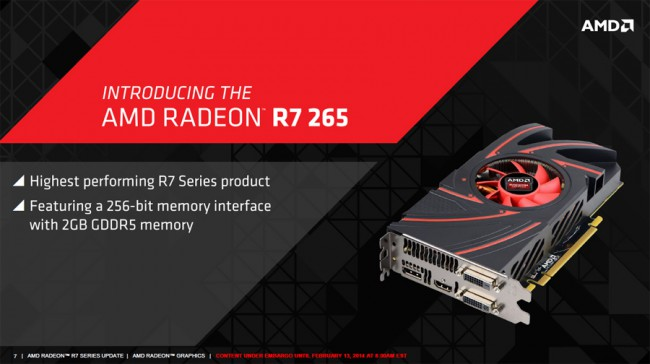 Radeon R7 265