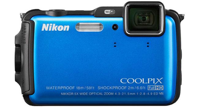 Nikon представила камеры Coolpix AW120 и Coolpix S32 с поддержкой подводной съемки