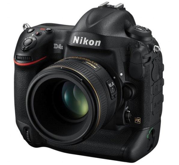 Nikon анонсировала флагманскую зеркальную камеру D4S формата FX