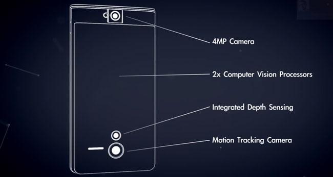 Google создала прототип смартфона с 3D-сенсорами, способного ориентироваться в пространстве
