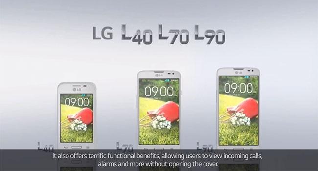 LG анонсировала линейку смартфонов L Series III