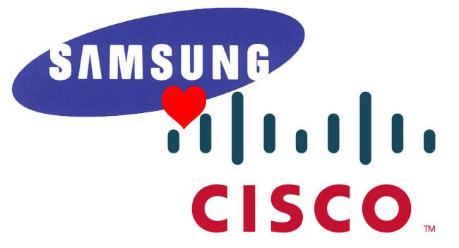 Samsung и Cisco заключили многолетнее кросс-лицензионное соглашение