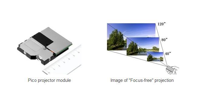 Sony разработала лазерный пико-проектор, обеспечивающий высокую четкость изображения