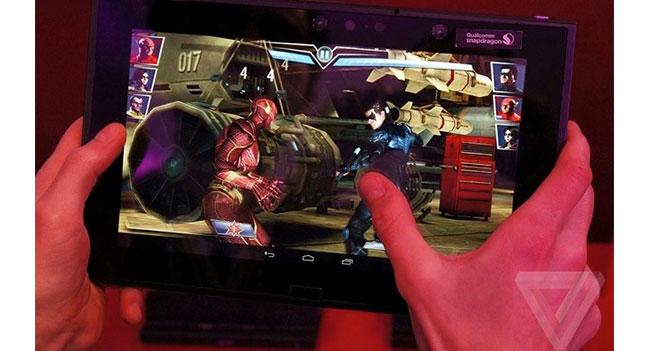Qualcomm продемонстрировала возможность запуска игр на планшете с 4K разрешением дисплея