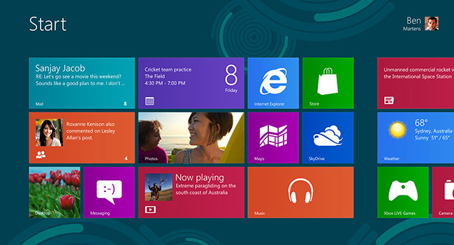 Microsoft продала 200 млн лицензий ОС Windows 8