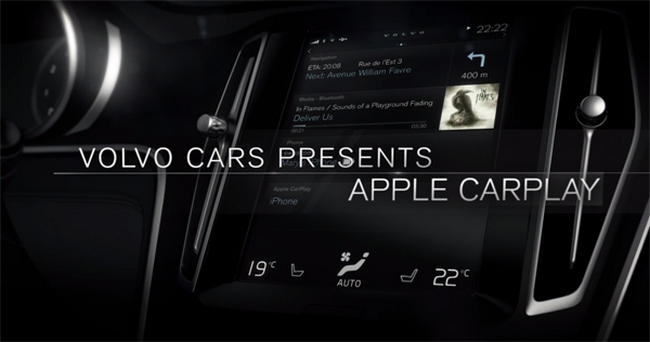 Apple-CarPlay-Volvo
