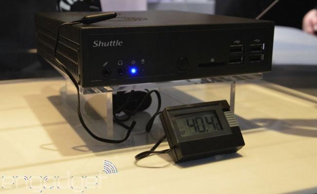 Shuttle показала компактную barebone-систему с чипом Core i7