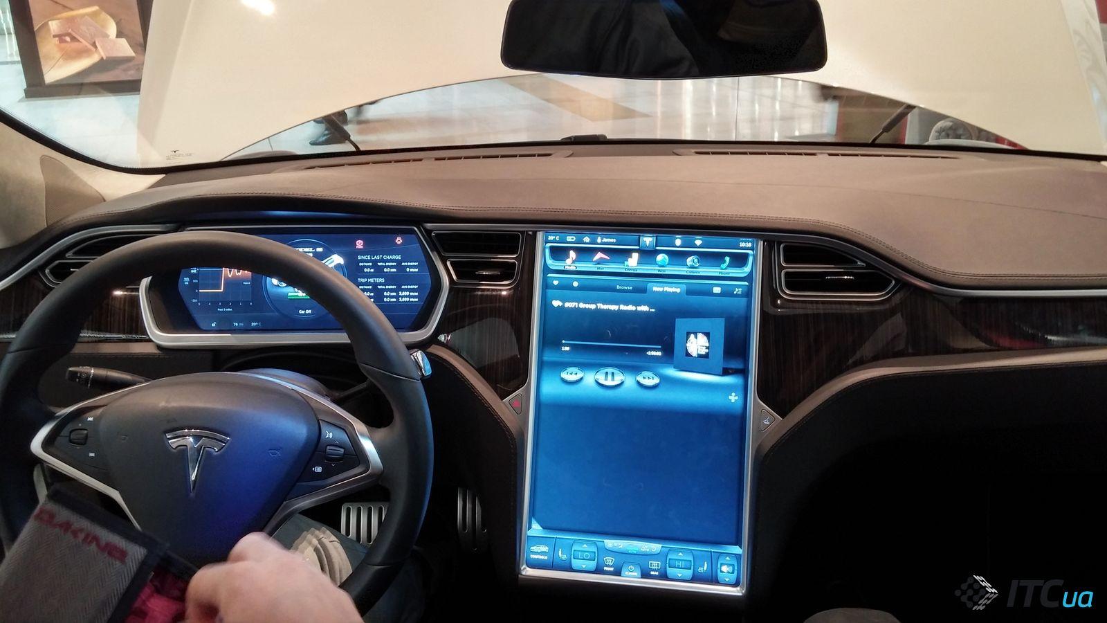 тесла автомобиль картинка на весь экран