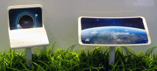 Kyocera показала концепт гибкого смартфона EOS