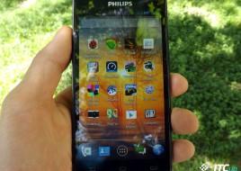 Philips Xenium W6610 Navy Display 01