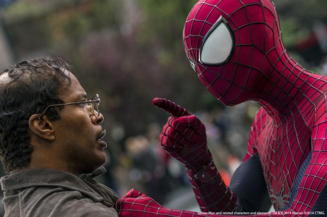 актёры фильма новый человек паук высокое напряжение