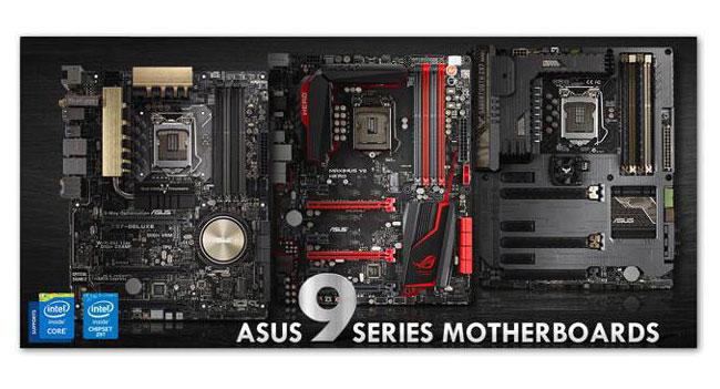 ASUS начала поставлять в Украину материнские платы базе 9-й серии чипсетов Intel