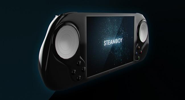SteamBoy - портативная игровая консоль на базе SteamOS