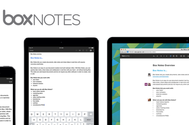 Box brings Box Notes to its iOS apps