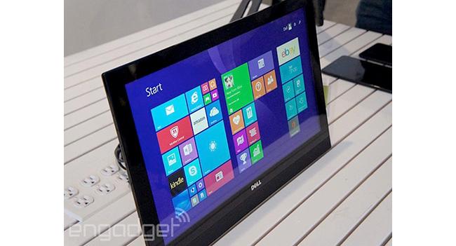 Dell показала моноблок Inspiron 20 с интегрированной батареей