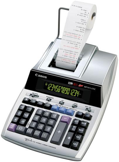 Canon выпустила два калькулятора для сферы бизнеса