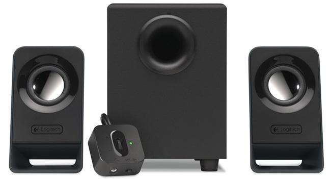 Logitech представила в Украине акустическую систему Multimedia Speakers Z213