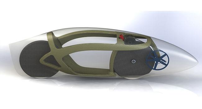 AeroVelo планирует создать самый быстрый в мире велосипед