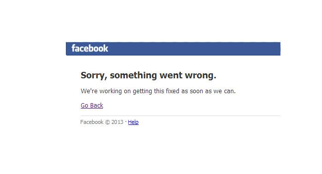 В Facebook зафиксирован крупнейший за последние годы сбой