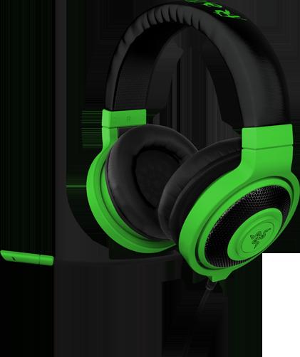 Razer представила новую серию игровых наушников Kraken Neon