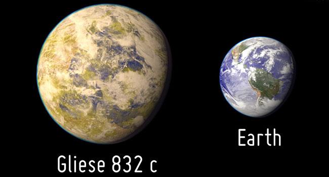 Астрономы обнаружили планету Gliese 832c, во многом похожую на Землю