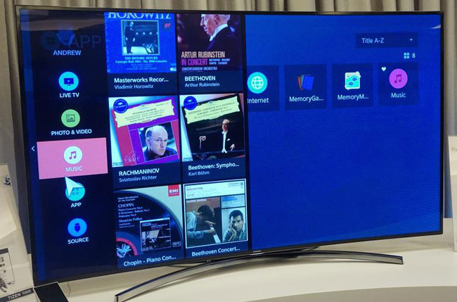 Samsung показала телевизор и цифровые камеры на базе ОС Tizen