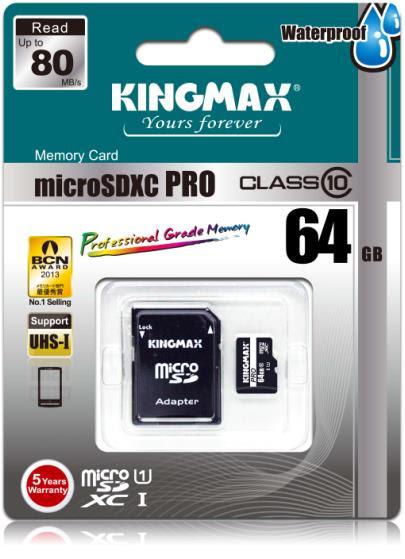 Kingmax выпустила высокоскоростные карты памяти PRO Extreme SDXC/SDHC и PRO microSDXC/SDHC
