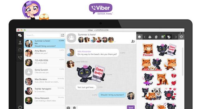 Вышла новая версия настольного приложения Viber