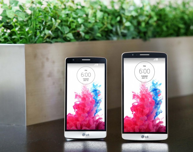 LG G3 S рядом с флагманом G3