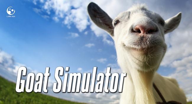 Игра Goat Simulator будет издана на дисках, появится для платформ Mac и Linux