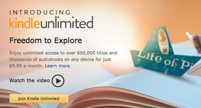 Kindle_Unlimited logo