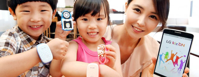 LG KizON - носимое устройство для детей