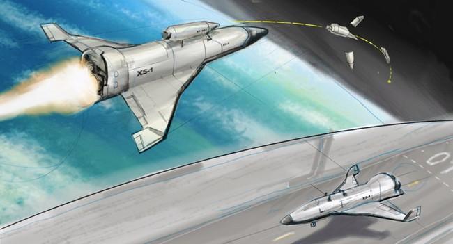 В DARPA выбрали три компании для первого этапа создания космического самолета XS-1