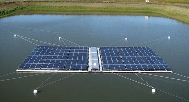 В Индии построят одну из крупнейших плавучих солнечных электростанций