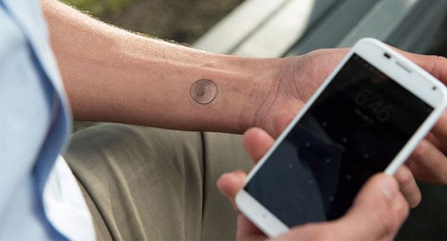 VivaLnk предлагает разблокировать смартфон при помощи цифровой татуировки